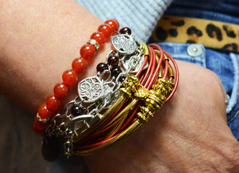Lisa Robin Bracelets | Unconventional Woman Blog