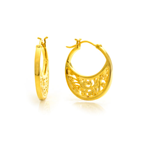 Embellished Hoop Earrings | Lisa Robin Jewelry