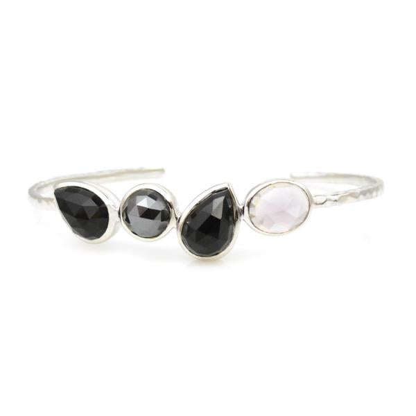 Lisa Robin Jewelry Black Onyx Cuff