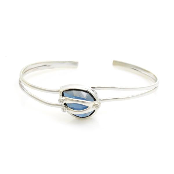 Lisa Robin Jewelry Blue Quartz Cuff
