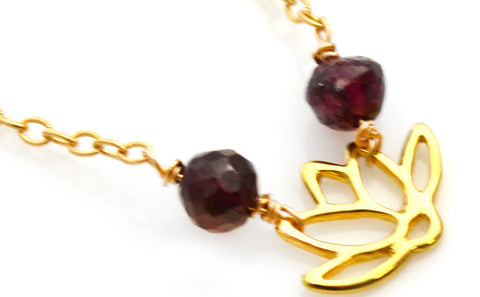 Lotus Lisa Robin Jewelry Necklace