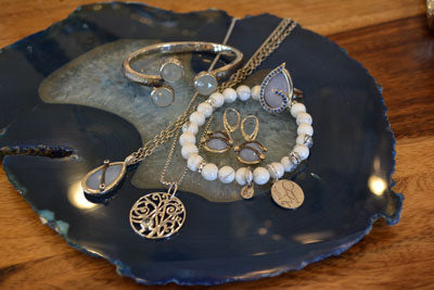 Chalcedony Statement Jewelry | Lisa Robin jewelry