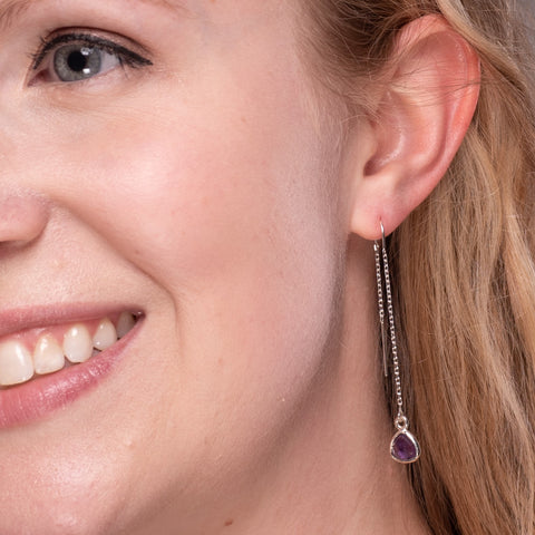 Threader Earrings | Lisa Robin Jewelry