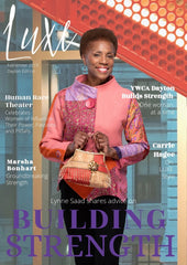 Luxe Magazine Dayton edition featuring Lisa Robin Jewelry