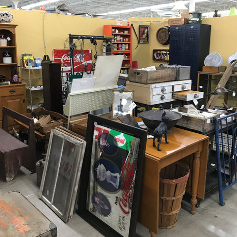 Antiques Village Dayton Ohio | Unconventional Woman