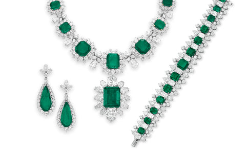 Elizabeth Taylor's Emerald Jewelry by Bulgari