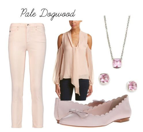 Lisa Robin Jewelry In Pale Dogwood | Pink Quartz