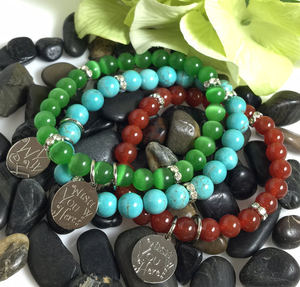 Charm and Gemstone Bead Bracelets | Artisan Jewelry