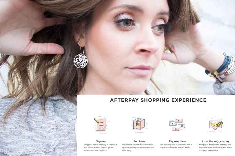 Afterpay for Lisa Robin jewelry