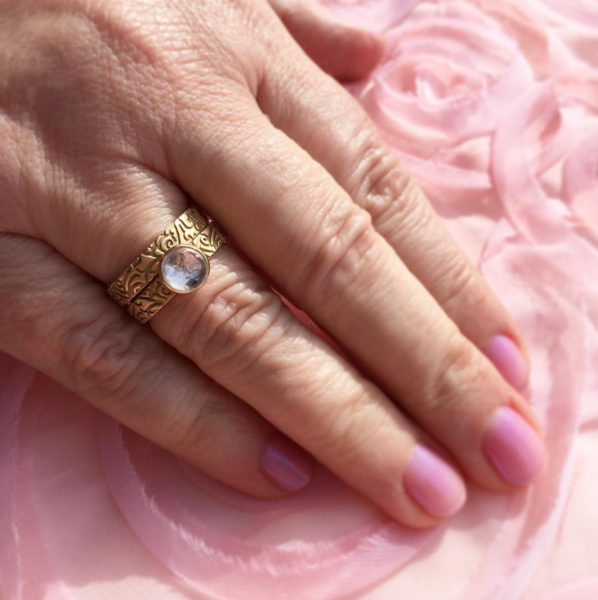 Gold Stack Ring | Lisa Robin Jewelry