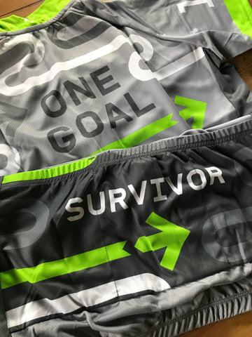Survivor Jersey Pelotonia