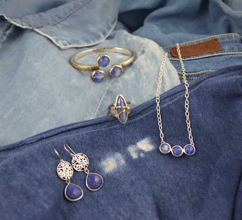 Lapis Lazuli by Lisa Robin Statement Jewelry