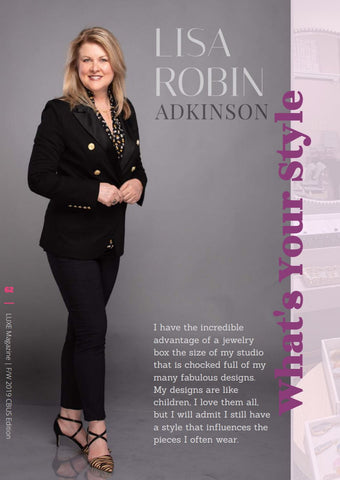 Lisa Robin Adkinson featured in LUXE Magazine