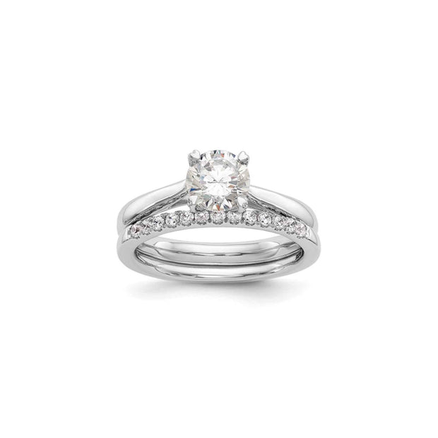 The Allison Solitaire Engagement Ring