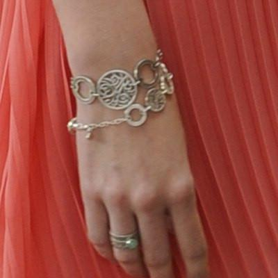 Bracelet Sterling Silver Filigree Circle - Lisa Robin