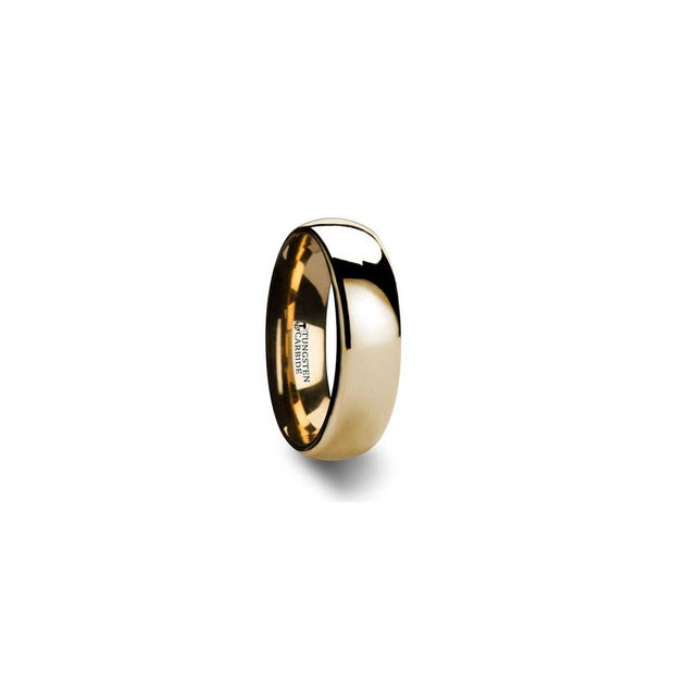 The Emerson Domed Tungsten Carbide Wedding Ring