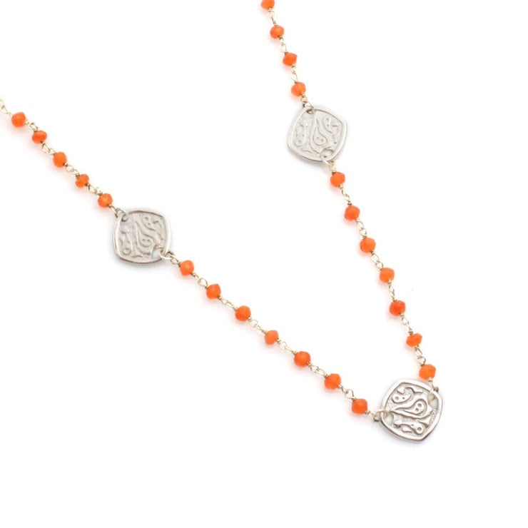 Gemstone Sterling Silver Three Station Necklace - Lisa Robin