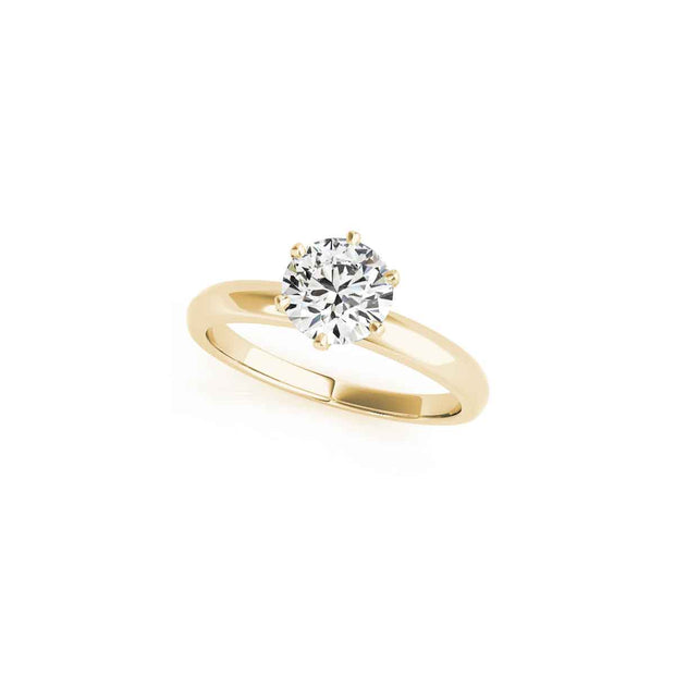 The Katharine Solitaire Engagement Ring - LISA ROBIN