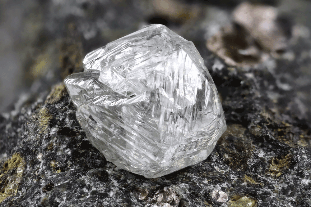 Ethically sourced natural diamonds.