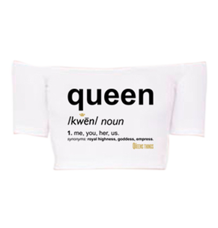 Queen Definition Off The Shoulder Crop