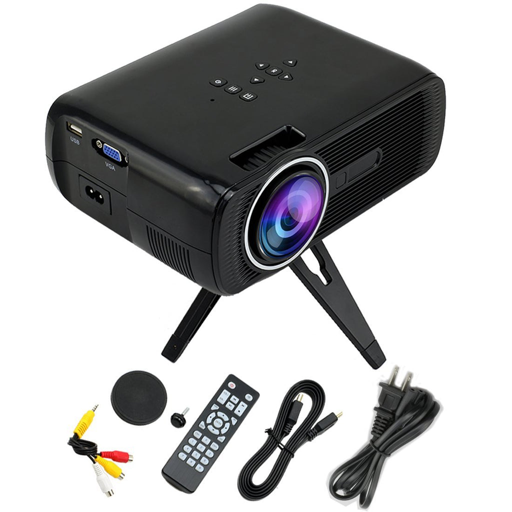휴대용 MAXBY EB-Q3 Portable 1200 Lumens LED Pico Projector