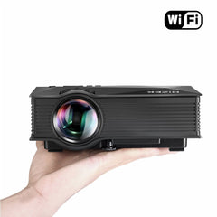 휴대용 WiFi Projector, Hizek 1200 Lumens LED Wireless Home Theater