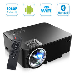 휴대용 MAXESLA Smart Android Mini Projector Full HD 1500 Lumens