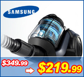 Samsung 삼성 청소기 VCF500G Canister VC with Extreme Suction Power, Earth Blue