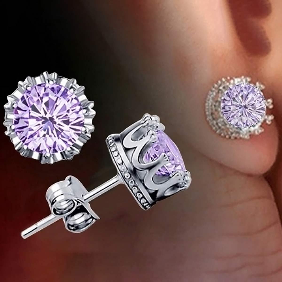 of earrings best stud collection fine diamond ellangelcollection awesome allezgisele diamonds crown jewelry