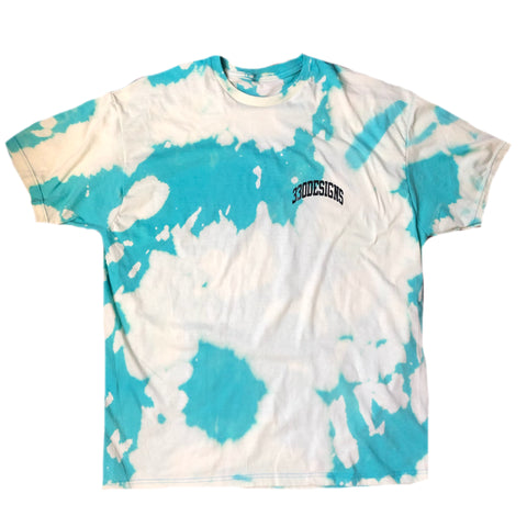 """330Designs"" Mini Arch Acid Wash Tee"