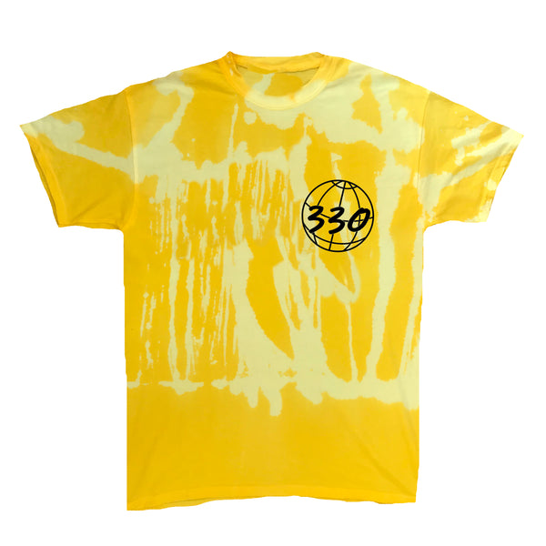 330 Globe Canary Yellow Vintage Wash Tee