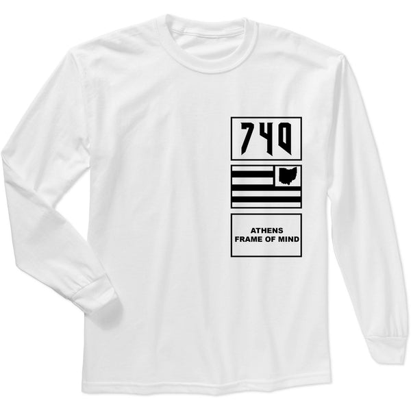 Athens Frame Of Mind Stamp Long Sleeve
