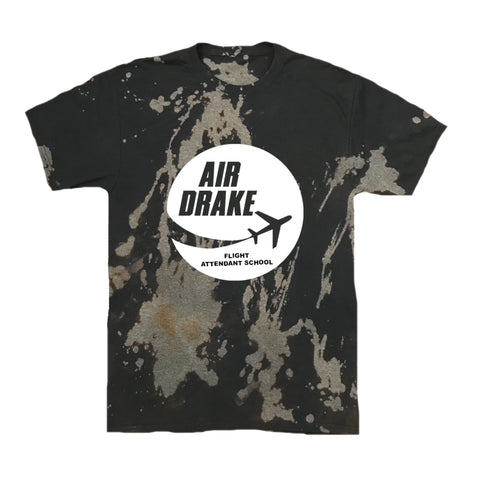 "Air Drake"" Flight Attendant School Vintage Tee"