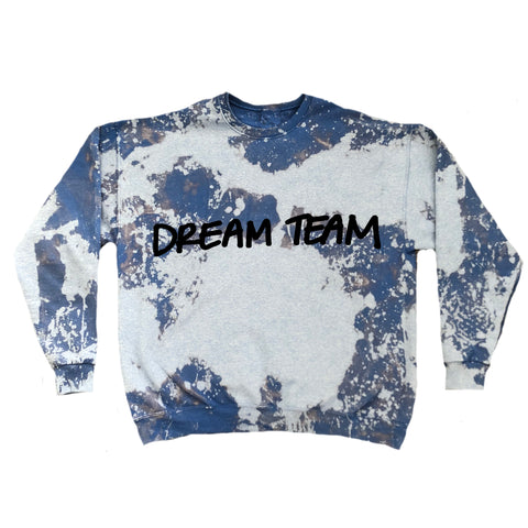 Dream Team Handwritten Vintage Crewneck