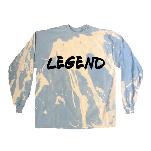 LEGEND Graffiti Acid Wash Long Sleeve