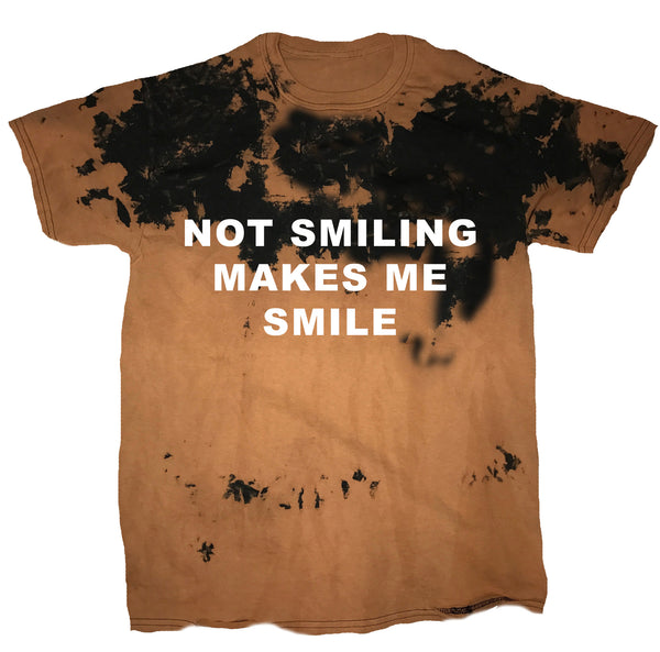 Not Smiling Makes Me Smile Vintage Tee