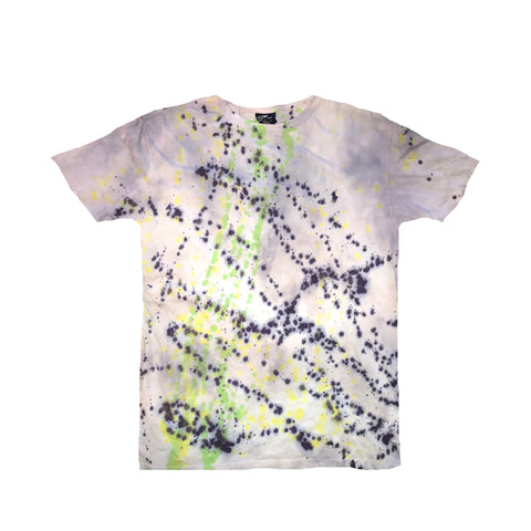 "POLO ""RALPH LAUREN"" Gray Splatter Tee"