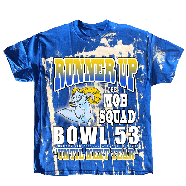"""Runner Up"" Super Bowl Champ Los Angeles Rams Bootleg Tee"