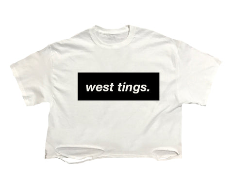 West Tings Crop Tee