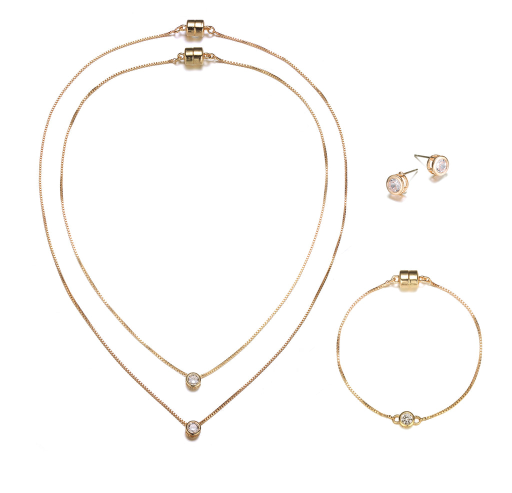 Allure: Full Set Jewelry Collection-Jewels to Jet-Magnetic Clasp Jewelry