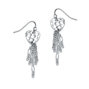 Amore Earrings: Silver or Gold-Jewels to Jet-Magnetic Clasp Jewelry