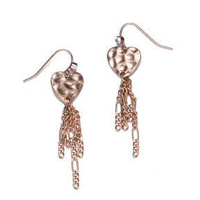 Amore Gold Earrings - Jewels to Jet