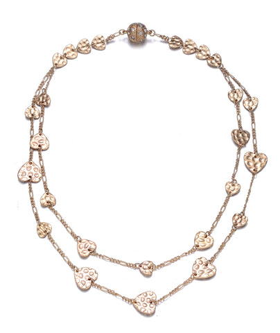Amore Gold Short Necklace - Jewels to Jet