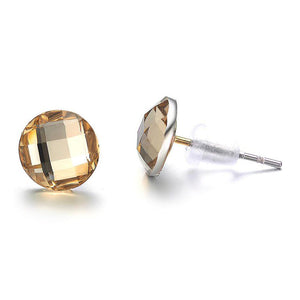 Anastasia: Stud Earrings-Jewels to Jet-Magnetic Clasp Jewelry