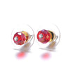Bellissima: Stud Earrings-Jewels to Jet-Magnetic Clasp Jewelry