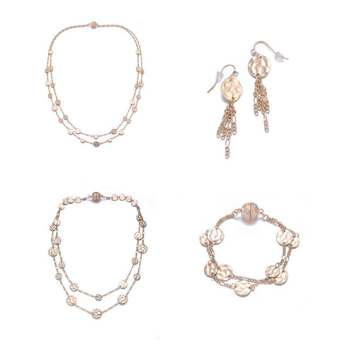 Chloe Collection: 4 Piece Jewelry Set by Jewels To Jet-Jewels to Jet-Magnetic Clasp Jewelry