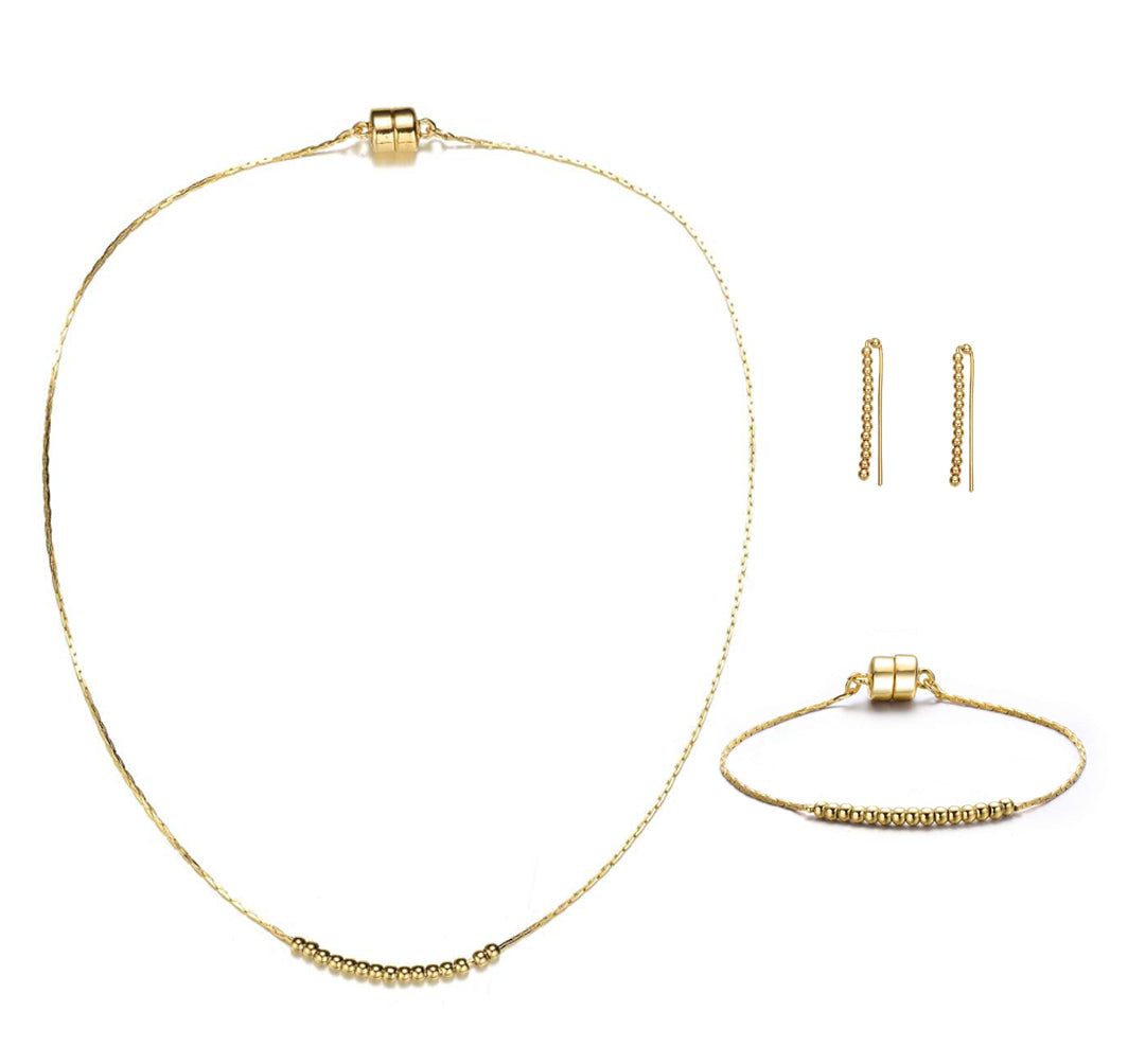 Carol Gold Collection-Jewels to Jet-Magnetic Clasp Jewelry