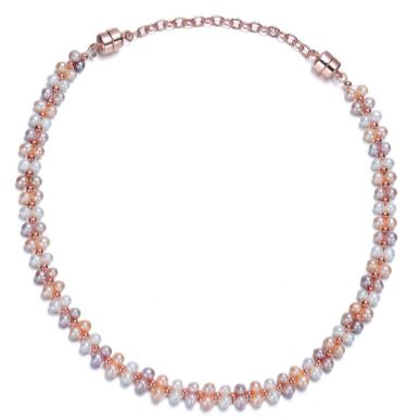Catherine Necklace with Extender-Jewels to Jet-Magnetic Clasp Jewelry