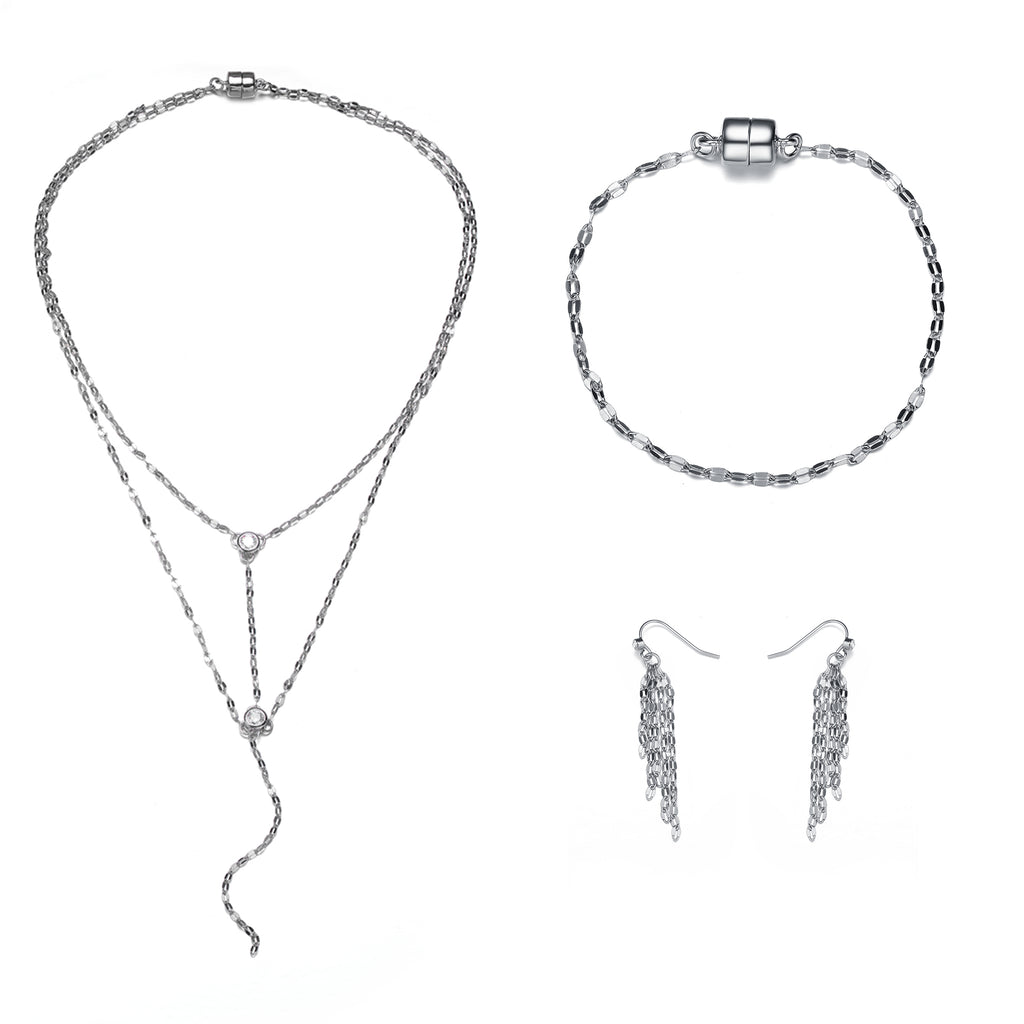 Copacabana: Full Set Jewelry Collection-Jewels to Jet-Magnetic Clasp Jewelry