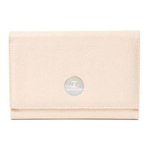 Cream Tri-Fold Travel Case-Jewels to Jet-Magnetic Clasp Jewelry